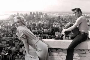 Marilyn y Elvis en NY