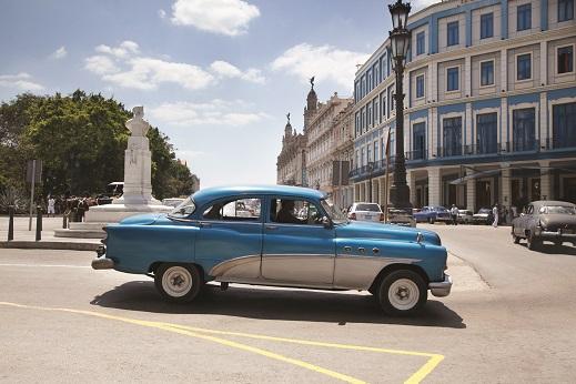La Habana automóvil típico